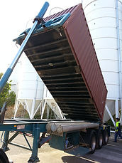 Container Tipper/ Unloading