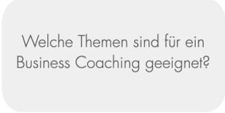 2. Themen Business Coaching