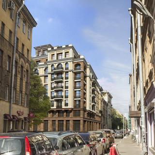 Жилой  дом в Санкт-Петербурге