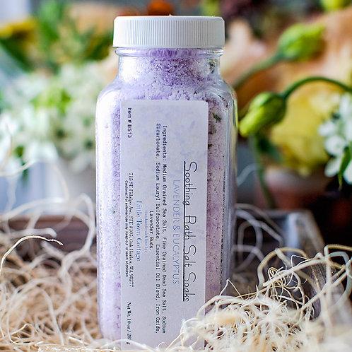 Lavender & Eucalyptus Soothing Bath Salt