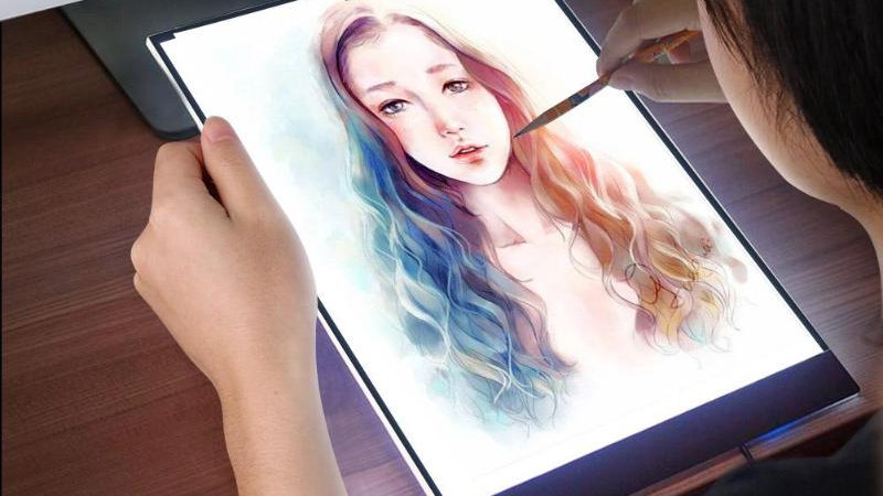 A4 Drawing Tablet Digital Graphic Electronics LED Tablet Light Electronic Board