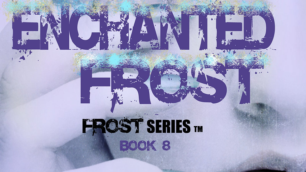 Signed Enchanted Frost (Bitter Frost Series #8) Paperback
