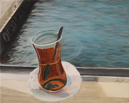 Tea On The Ferry Istanbul
