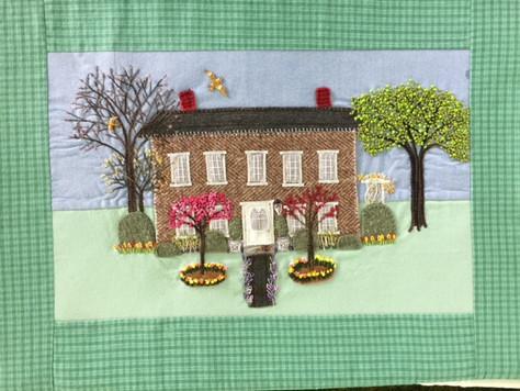 Seasonal Hudson House Stitch-Along