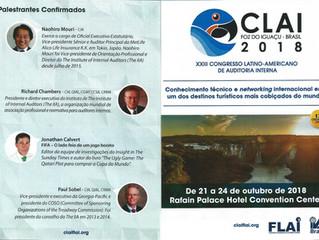 Participe Gratis do CLAI  2018 em Foz do Iguaçu - PR