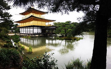 Kinkakuji Temple. Kyoto