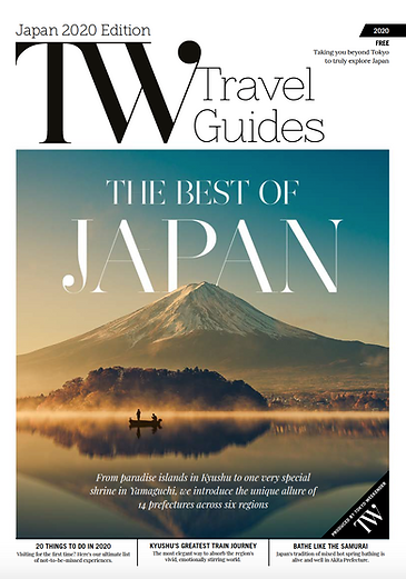 TW Travel Guides Japan 2020 Edition: Client-driven Travel Magazine
