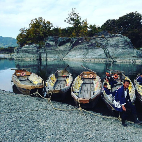 River Boats, Japan