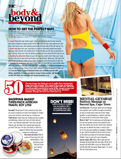 Marie Claire: Monthly Health Page