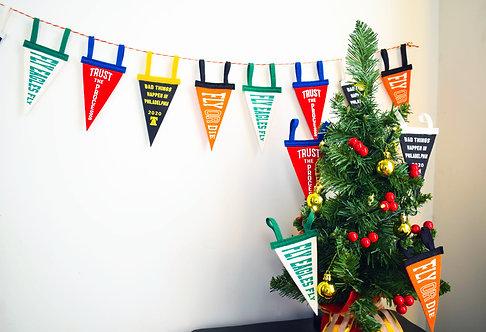 Pennant Ornaments