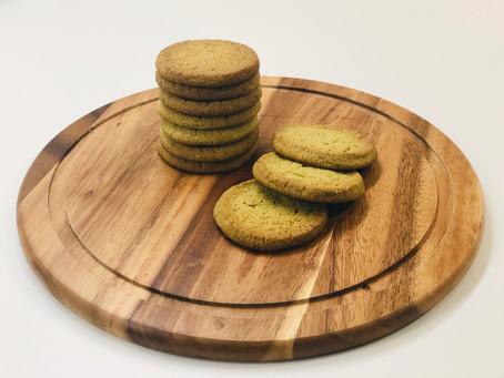 Matcha Almond cookies 🍪