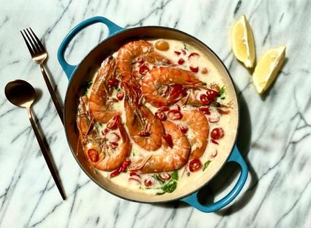 Creamy Tuscan Garlic Shrimp (Keto)