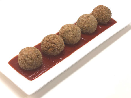 Arancini rice balls (modified)