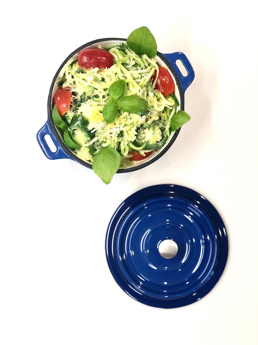 Zoodles (zucchini noodles) 🌱