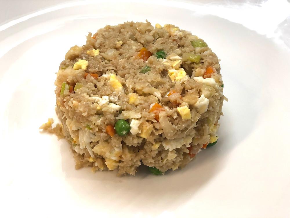 Cauliflower fried rice (low-carb)