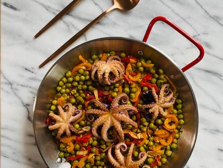 Octopus in a Mugardos style