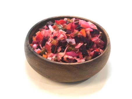 Vinaigrette salad (pure vegan)