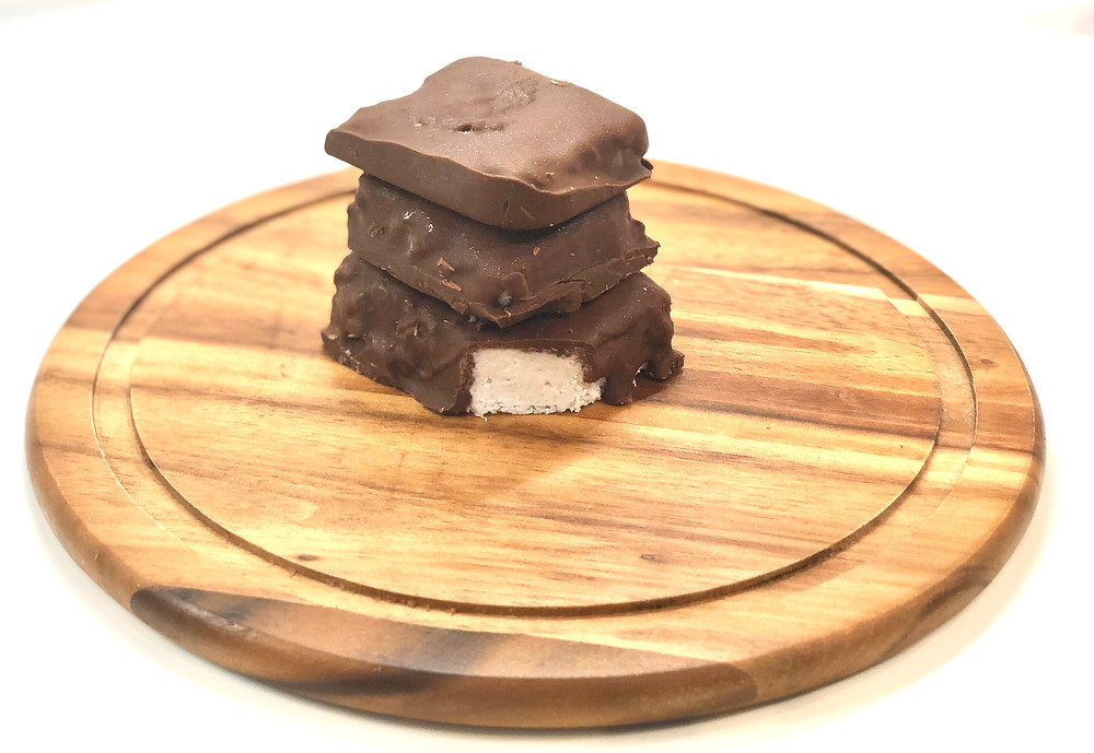 Chocolate coconut crack bars