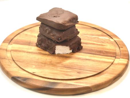 Chocolate coconut crack bars
