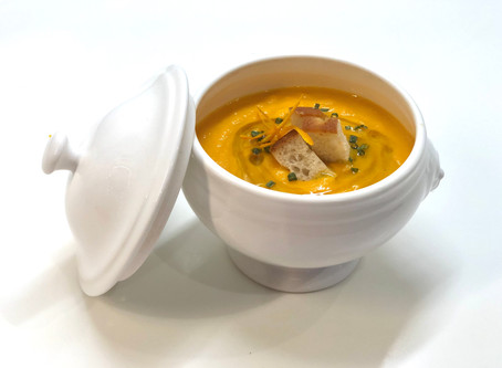 Carrot & orange cream soup