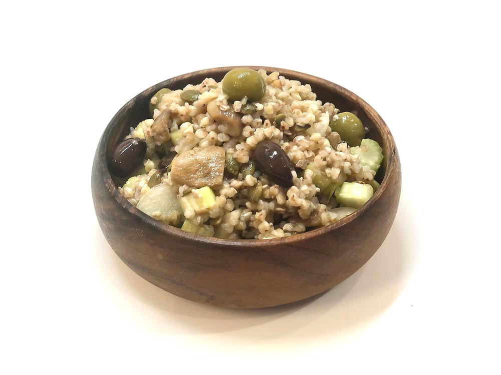Buckwheat with mushrooms 🍄