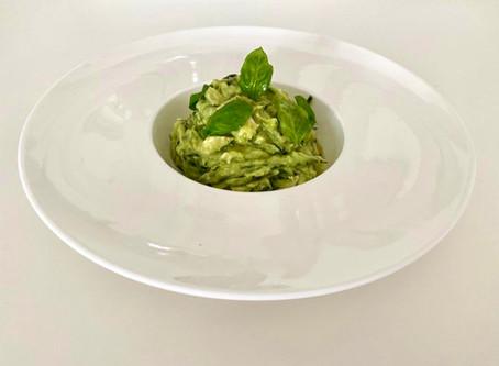 Avocado Pesto Pasta (Keto)