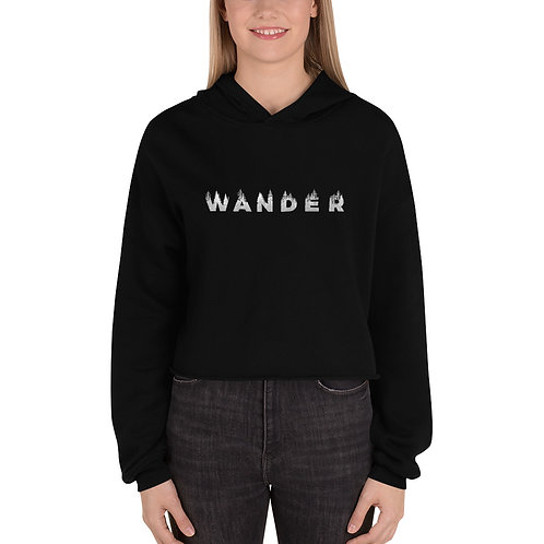 Wander Crop Hoodie