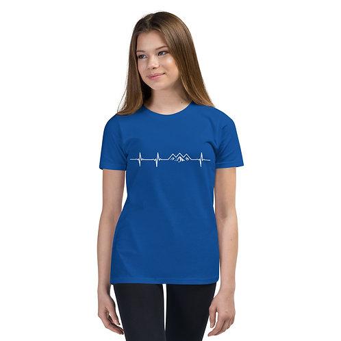 Youth Mountain Pulse Short Sleeve T-Shirt