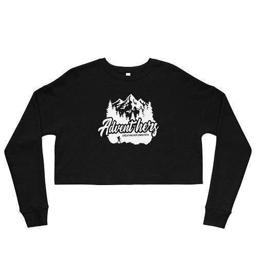 Advent-hers Crop Sweatshirt