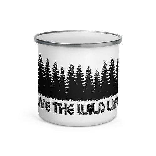 Live The Wild Life Enamel Mug