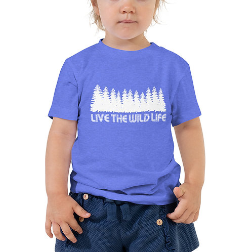 Toddler Live The Wild Life Short Sleeve Tee