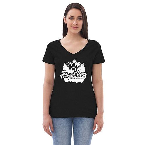 Women's Advent-hers v-neck t-shirt