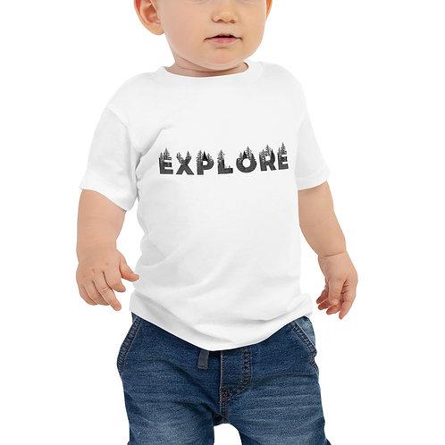 Explore Baby Jersey Short Sleeve Tee
