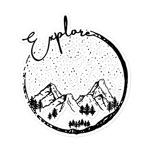 Explore the sky stickers