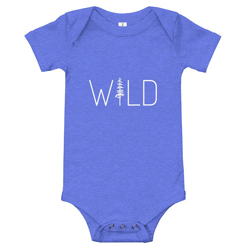 Baby Wild one piece