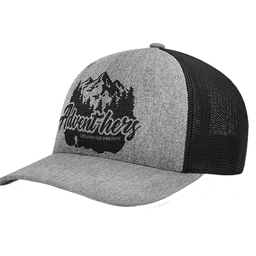 Trucker SnapBack hat with Advent-hers logo