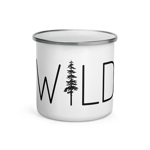 Wild Enamel Mug