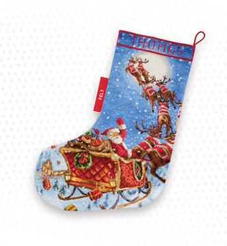 LETI 989 The Reindeers on it's way! Stocking