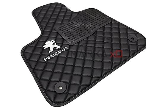 Her araca özel Siyah renk 3D logolu paspas