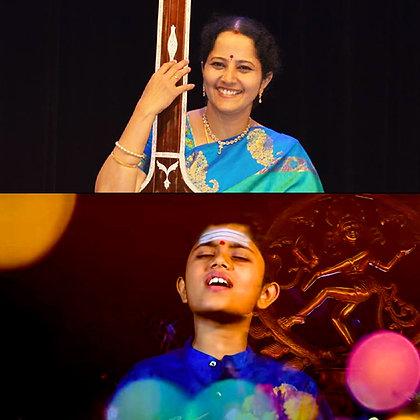 Family Pass Donation for Vids. Gayathri Venkataraghavan & Rahul Vellal Concerts