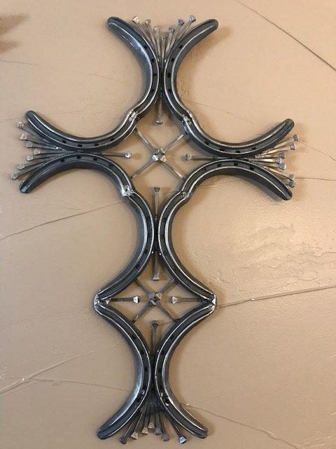 Horse Shoe Cross