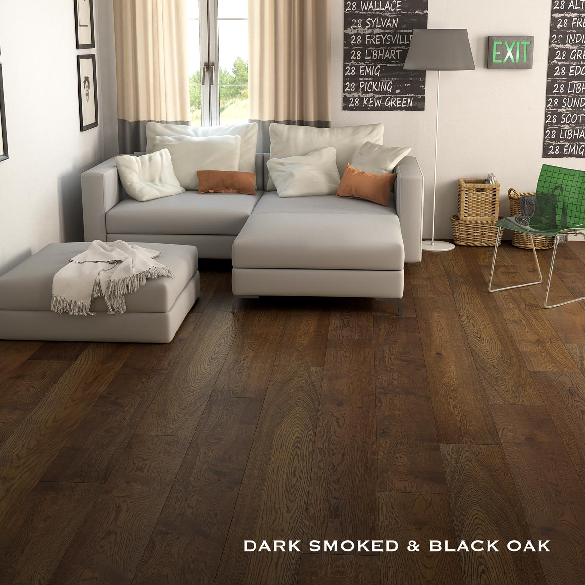 Dark Smoked Black Oak 2
