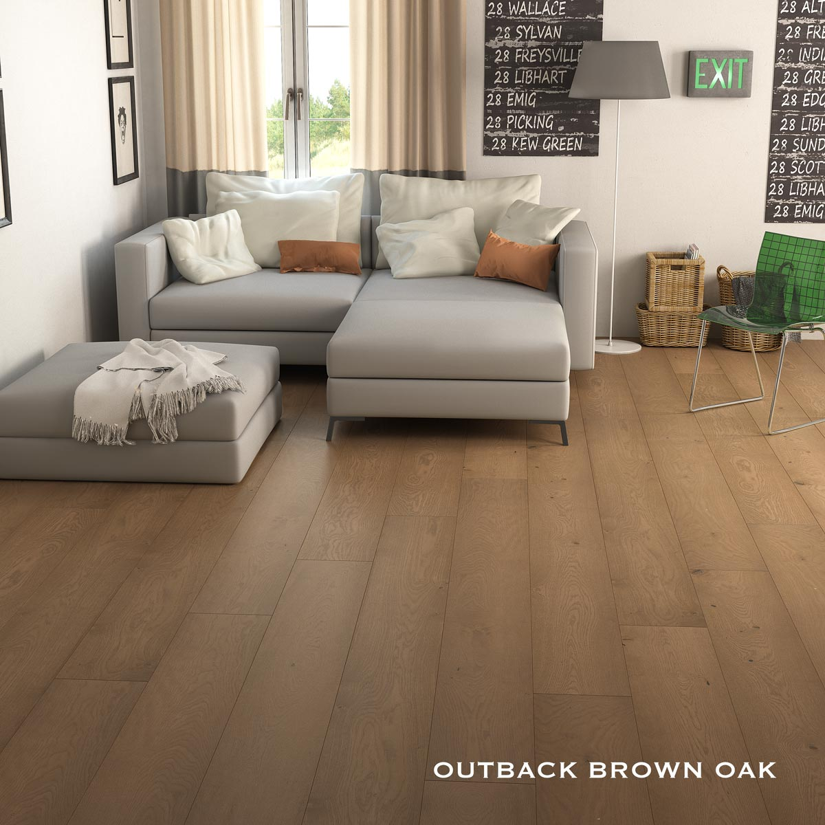 Outback Brown Oak 2