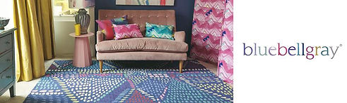 Blue Bell Gray Rug Collection
