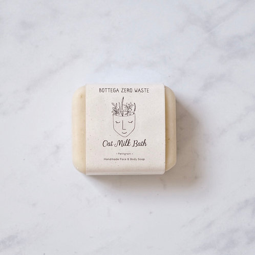oat milk bath soap