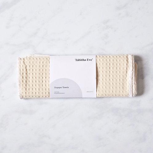 set of 5 cotton unpaper towels