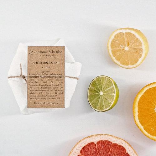 Zero Waste Solid Dish Soap - Citrus