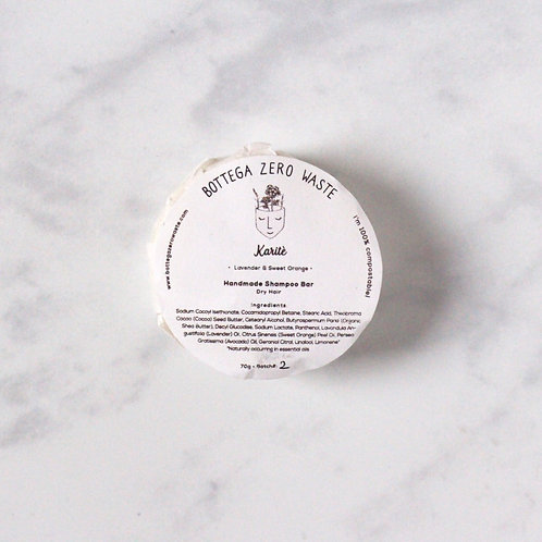 Karite Shampoo Bar - Dry Hair