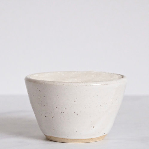 Solid Dish Soap And White Ceramic Bowl
