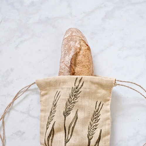 baguette bag - pale yellow